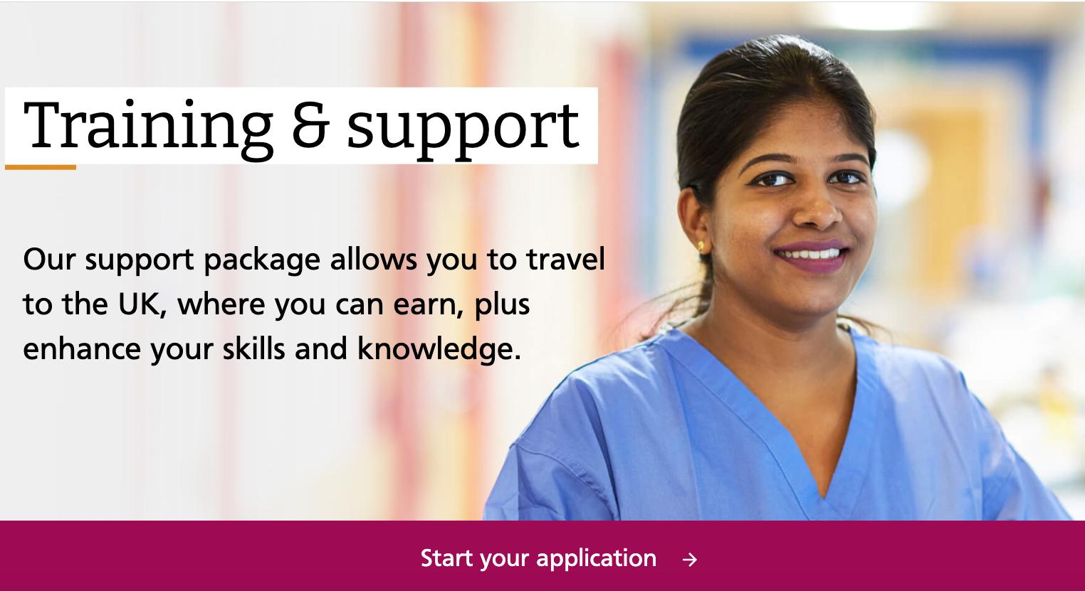 UK NHS International Nurses Direct Recruitment